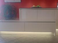 Led streifen kuche design einbauleuchtende for Led unterbaubeleuchtung küche