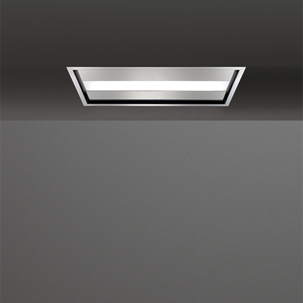 falmec nuvola edelstahl deckenl fter 90 cm ebay. Black Bedroom Furniture Sets. Home Design Ideas
