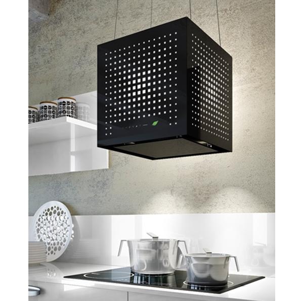 falmec rubik e ion system design dunstabzugshaube wandhaube schwarz 43 cm design. Black Bedroom Furniture Sets. Home Design Ideas